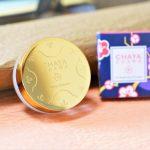 茶屋コスメ『シャイニパウダー』で本物の『金』の輝きがほっぺに♡キラキラが美しい♡
